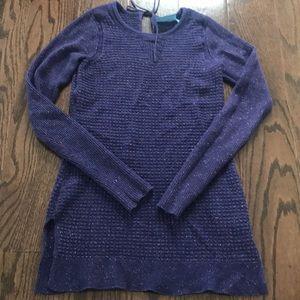 Simply Vera Purple Sparkle Sweater Size Small